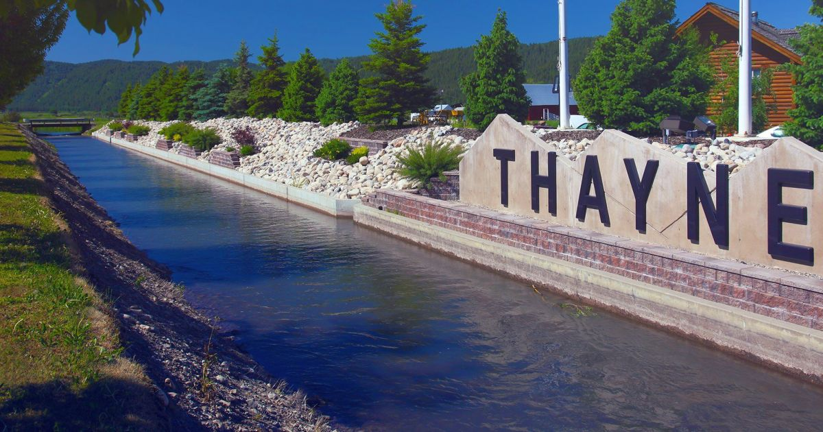 Welcome To Beautiful Thayne Wyoming